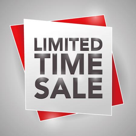 limited time: LIMITED TIME SALE, poster design element