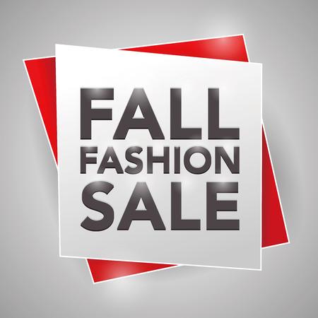 fall fashion: FALL FASHION SALE, poster design element