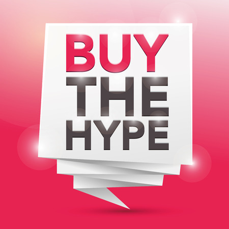 hype: BUY THE HYPE, poster design element