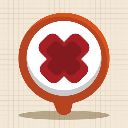 wrong: warning wrong icon theme elements Illustration