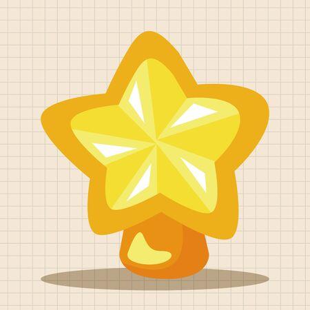 hope symbol of light: Christmas star theme elements