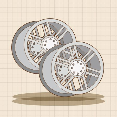 racing wheel: racing wheel theme elements vector,eps