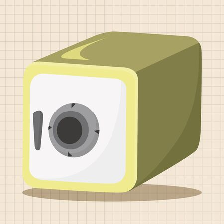 safety deposit box: Safety Deposit Box theme elements