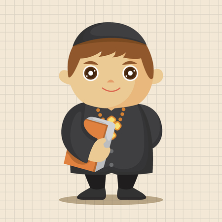 missionary: pastor and nun theme elements