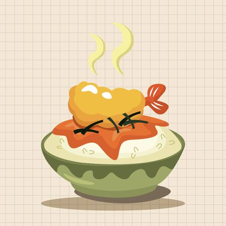 lasagna: Shrimp meal theme elements