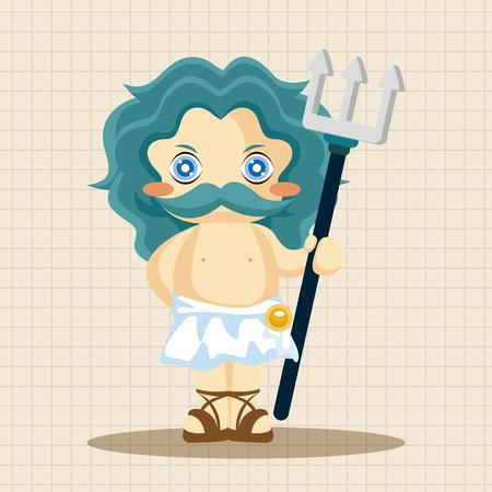 diosa griega: Elementos del tema de la deidad griega