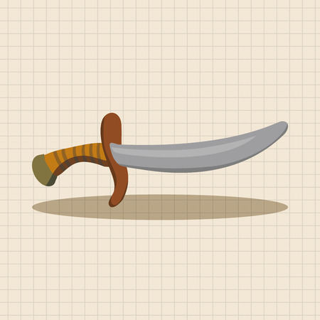 weapon: pirate weapon theme elements