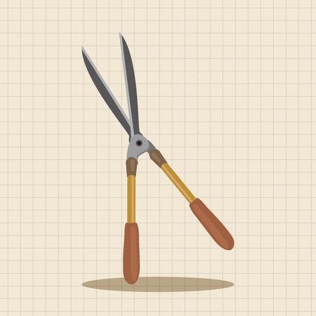 shears: garden shears theme elements