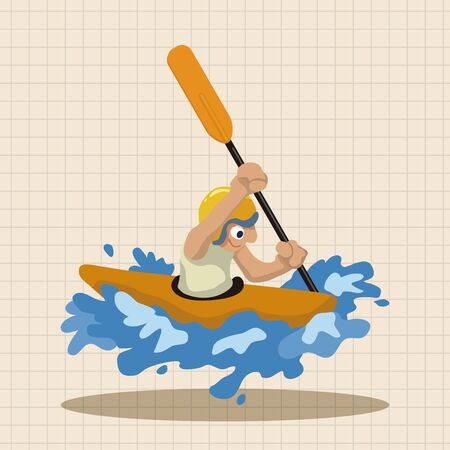 water sports: Water Sports theme elements