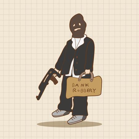robberies: thief theme elements