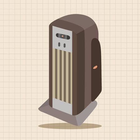 acclimatization: Dehumidifiers theme elements Illustration