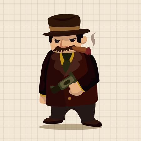 gangster: mafia theme elements