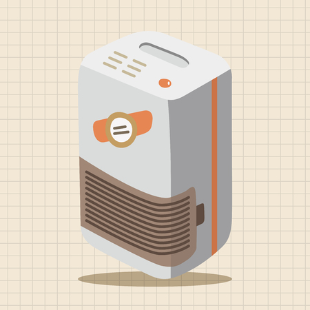 humidity: Dehumidifiers theme elements Illustration