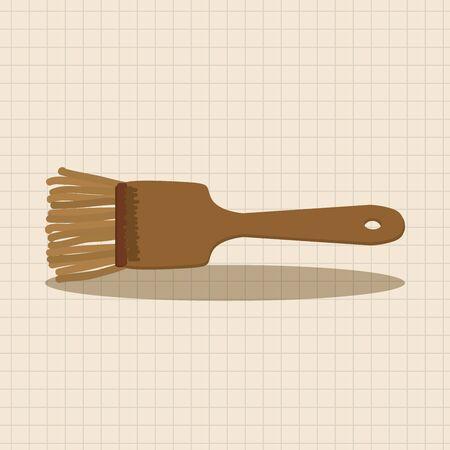spatula: kitchenware spatula theme elements Illustration