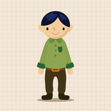 character of people: people character theme elements