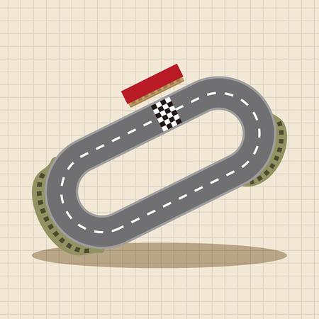 f1: f1 racing theme elements