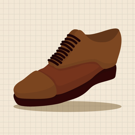 shoelaces: shoe style theme elements vector,eps Illustration