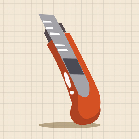 utility: utility knife theme elements
