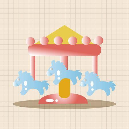facilities: Amusement park facilities theme elements