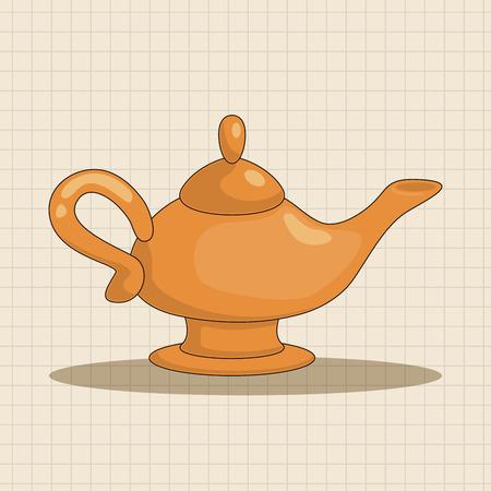 mythological character: Aladdin Genie theme elements