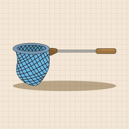 nets: Fishing nets theme elements
