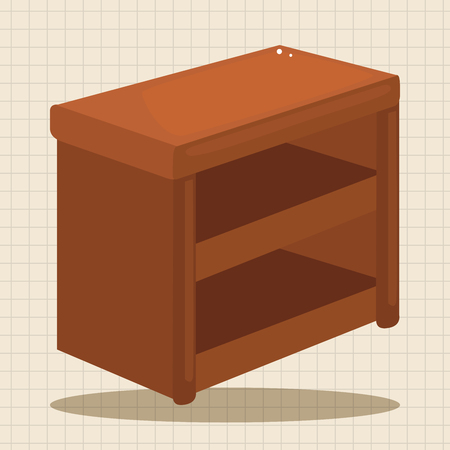 furniture: furniture cabinet theme elements