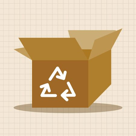 recycling plant: Environmental protection concept theme elements, Doing recycle to protect our environment; recycled garbage