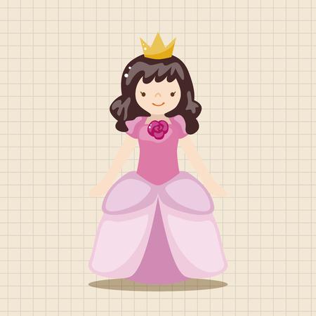 little princess: Royal theme princess elements