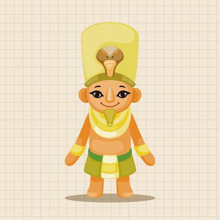 pharaoh: pharaoh theme elements Illustration