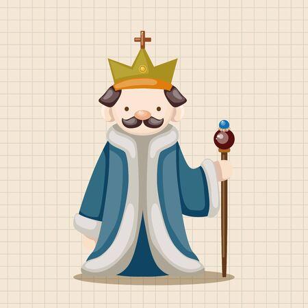royal: Royal theme king elements