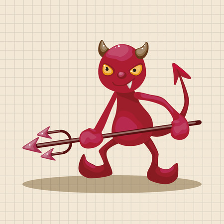 sexy devil: devil theme elements