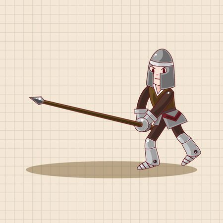sword and shield: knight theme elements