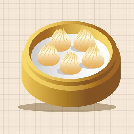 food: chinese food theme elements Illustration