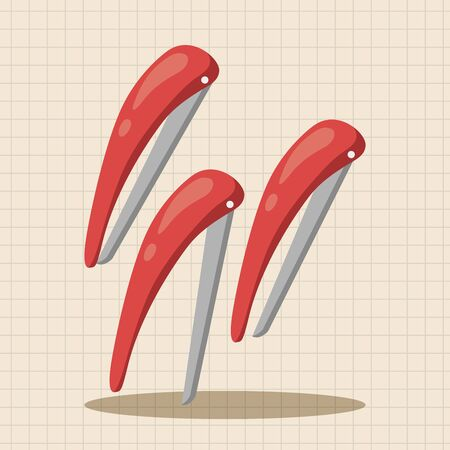 hairpin: hair products theme hairpin elements