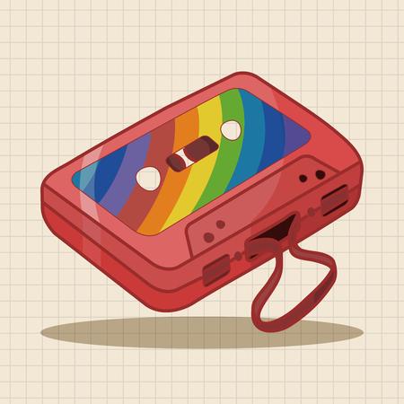audiotape: Audiotape theme elements