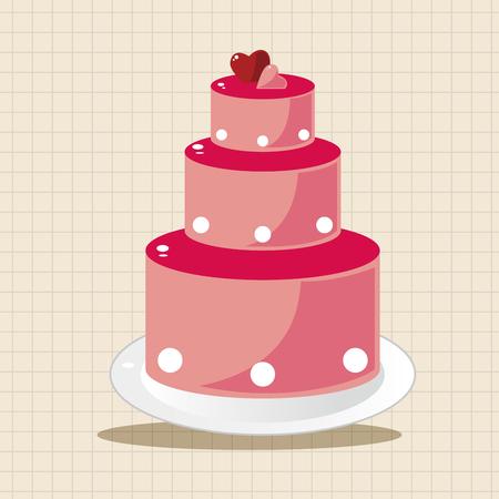 wedding cake: wedding cake theme elements