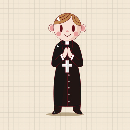 nun: pastor and nun theme elements