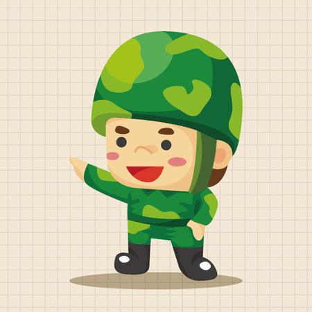 soldat silhouette: people theme soldier elements