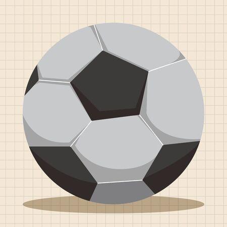 Sportausrüstung Thema Elemente