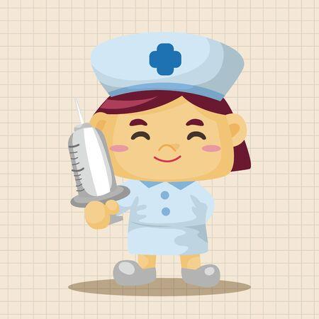 nurse: nurse theme elements