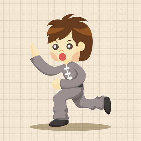 kung: Kung fu theme elements