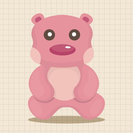 baby toy: baby toy theme elements Illustration