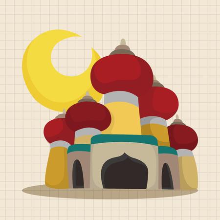 nights: fairytale Aladdin story theme elements
