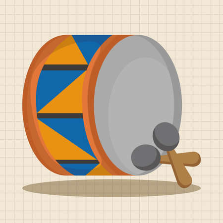 drumming: circus drum theme elements