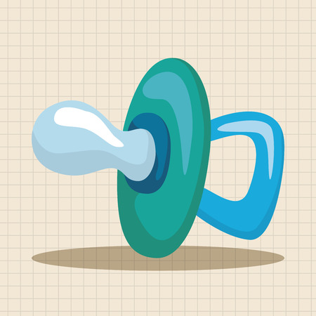 pacifiers: Baby pacifiers theme elements