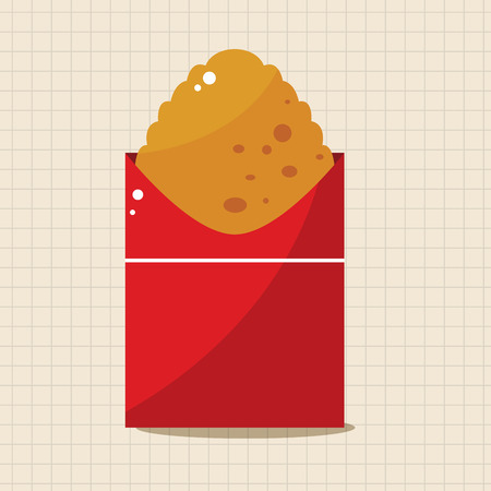 hashbrown: Fried foods theme hashbrown elements