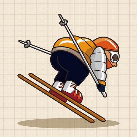 extreme sports: Extreme Sports theme elements