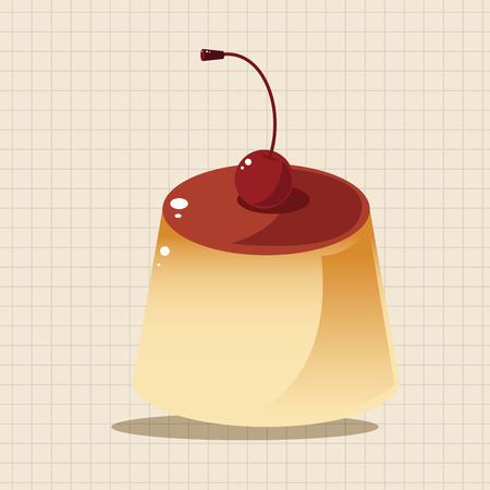 gelatin: pudding theme elements