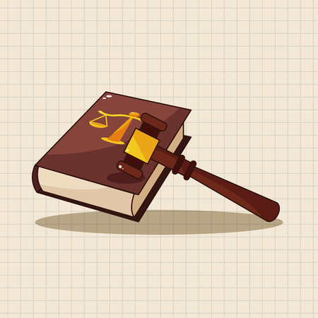 old book: law book theme elements