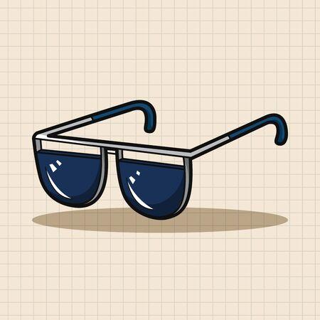 sun glasses: sun glasses theme elements Illustration